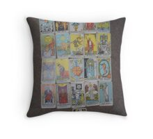 The Tarot  Throw Pillow