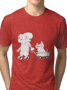 Little (Red) Wagon Tri-blend T-Shirt