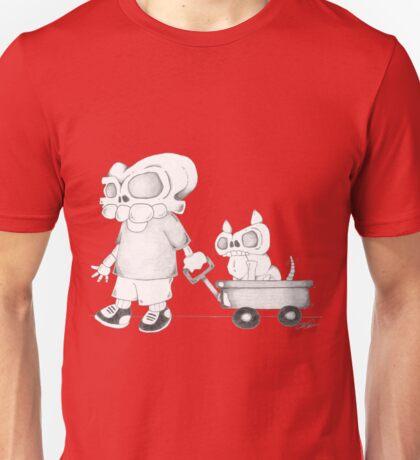 Little (Red) Wagon Unisex T-Shirt