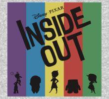 Inside Out (Black) T-Shirt