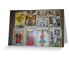 Bad Tarot Greeting Card