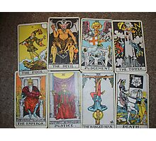 Bad Tarot Photographic Print