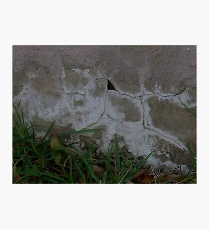 Crack Abstract Photographic Print