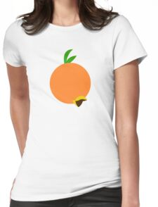 Winged Citrus Womens Fitted T-Shirt
