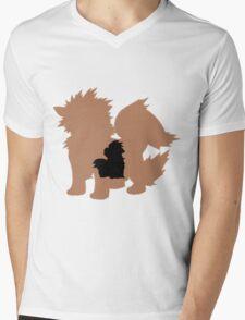 GrowlNine Mens V-Neck T-Shirt