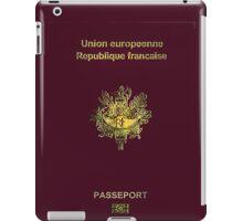 French Passport  iPad Case/Skin