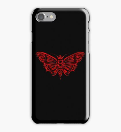 Death Moth iPhone Case/Skin