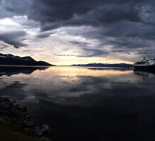 Ushuaia Harbour at Dawn by Juilee  Pryor