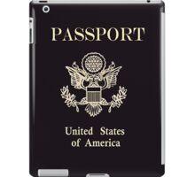 US Passport iPad Case/Skin