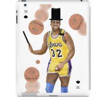 Magic(ian) Johnson iPad Case/Skin