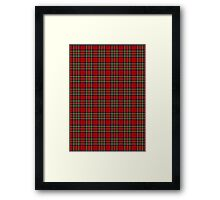Royal Stewart Framed Print