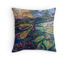 Dragonflies (Acrylics)- Throw Pillow