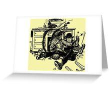 Defective Bureau Greeting Card