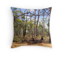 Mid West Bush Throw Pillow