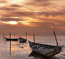 Port Dickson Sunset by Simon Deadman