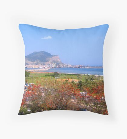 Sicilian Summer Throw Pillow
