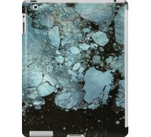 Blue oil iPad Case/Skin