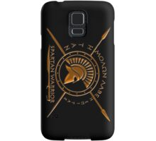 Spartan warrior Samsung Galaxy Case/Skin