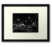 4th & Washington; State Theatre Framed Print