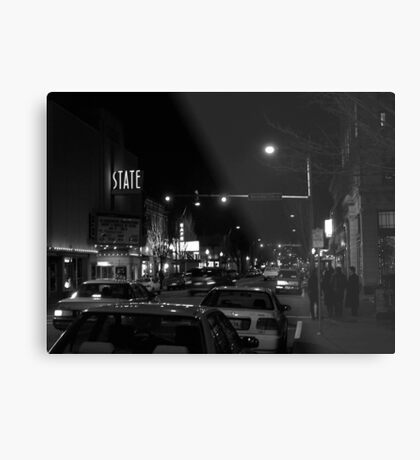 4th & Washington; State Theatre Metal Print