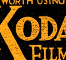 Kodak Sticker
