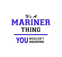 It's a MARINER thing, you wouldn't understand !! by thestarmaker