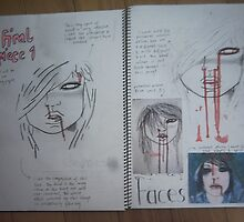 studio art folio pg 3 by papercutgirl