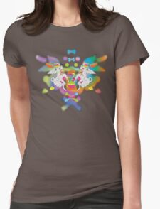 Peanut's Psychedelic Party Time Womens Fitted T-Shirt