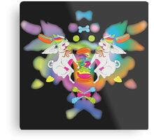 Peanut's Psychedelic Party Time Metal Print