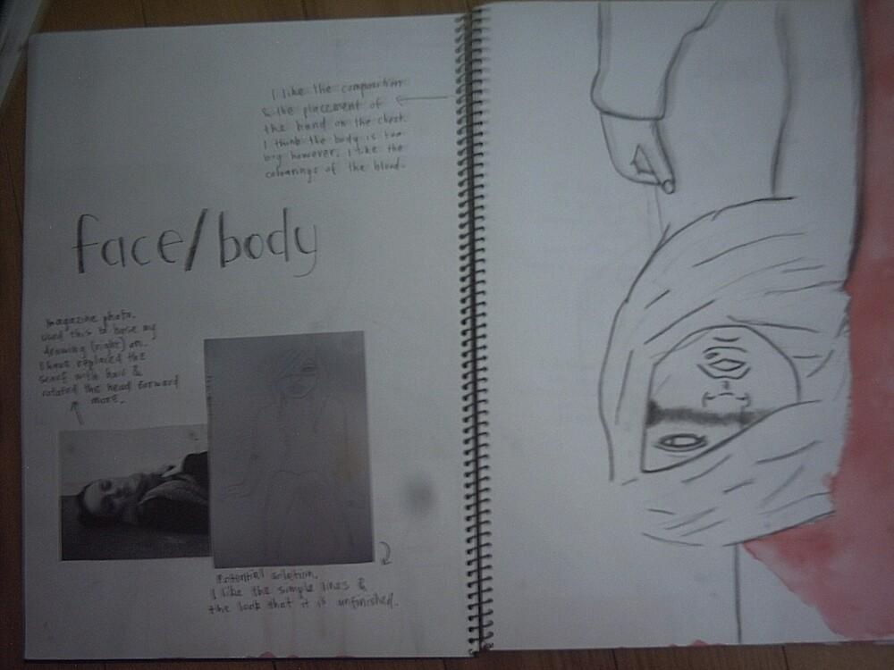 studio art folio pg 5 by papercutgirl