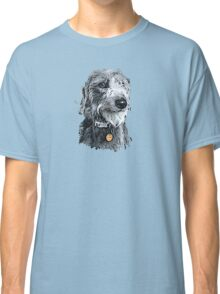 Cute stylized scruffy pup Classic T-Shirt