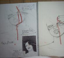 studio art folio pg 9 by papercutgirl