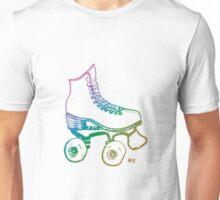 Rainbow Roller Skate Unisex T-Shirt