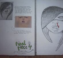 studio art folio pg 14 by papercutgirl