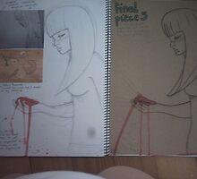 studio art folio pg 15 by papercutgirl