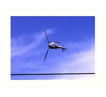 can helicopters really do this Art Print