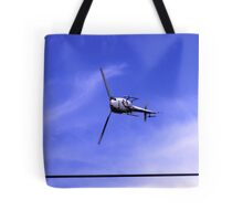 can helicopters really do this Tote Bag