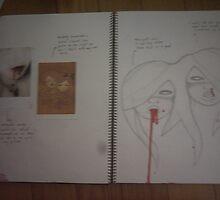 studio art folio pg 19 by papercutgirl
