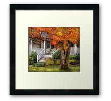 Autumn Exposure Framed Print