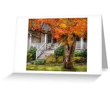 Autumn Exposure Greeting Card