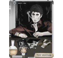 Tony Montana iPad Case/Skin