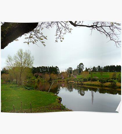 Maple Glen Ponds - Southland - NZ Poster