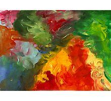 Finger Colors Photographic Print