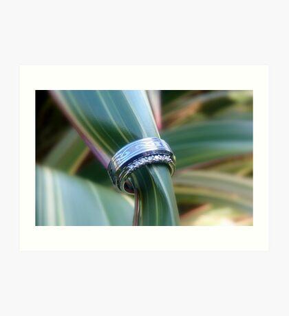 Forever United In Heart & Soul - Wedding Rings - NZ Art Print