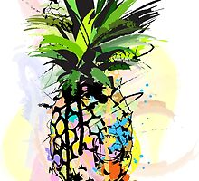 Pineapple Art by Chandler Milillo