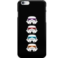 TEENAGE MUTANT NINJA TROOPERS iPhone Case/Skin