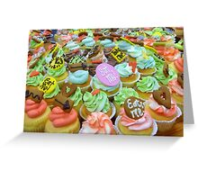 *Alice In Wonderland* - Cupcakes - Christchurch Greeting Card