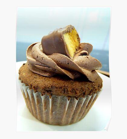 Crunchy Choc Delight - Cupcake - NZ   Poster