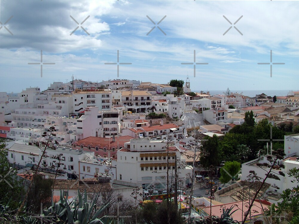 Albufeira Old Town by Tom Gomez