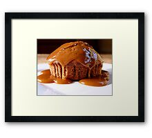 Chocolate Toffee Apple Muffin...NZ Framed Print